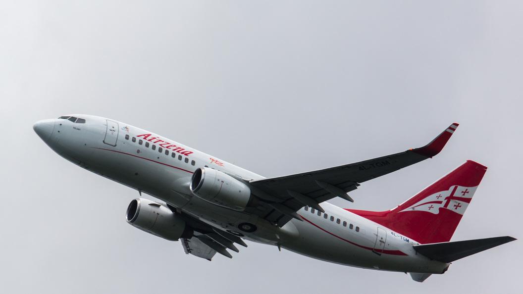 Минтранс снял запрет на полеты Грузинских авиалиний