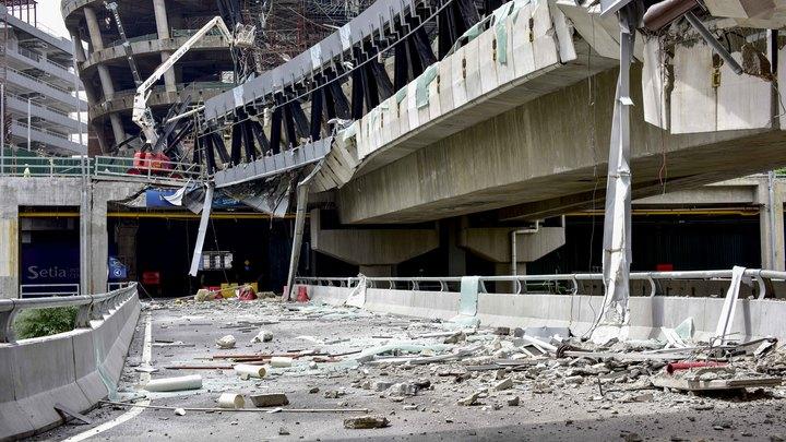 Крушение моста в Майами: Число погибших резко возросло