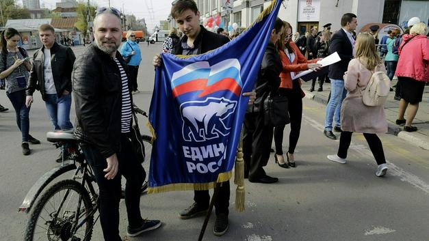 В Приморье напали на приемную «Единой России», опознан коммунист