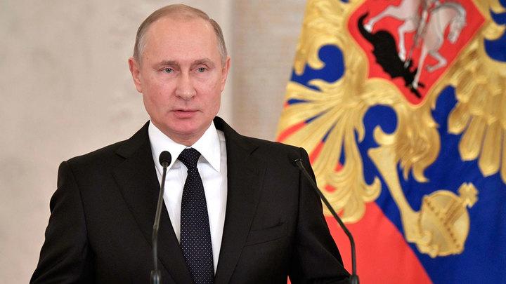 Путин: Взрыв в Петербурге — теракт, бандитов ликвидировать на месте
