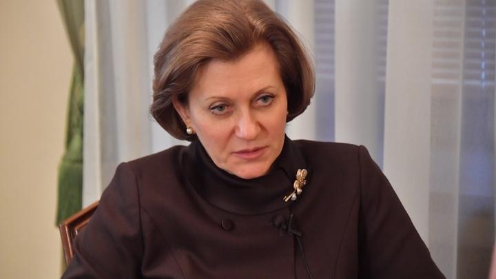 Чувствует себя хорошо: Попова поделилась подробностями о первом русском с британским штаммом COVID