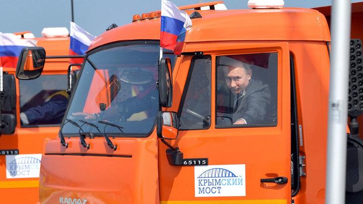 В Крым на грузовике: Западные СМИ обиделись на Путина