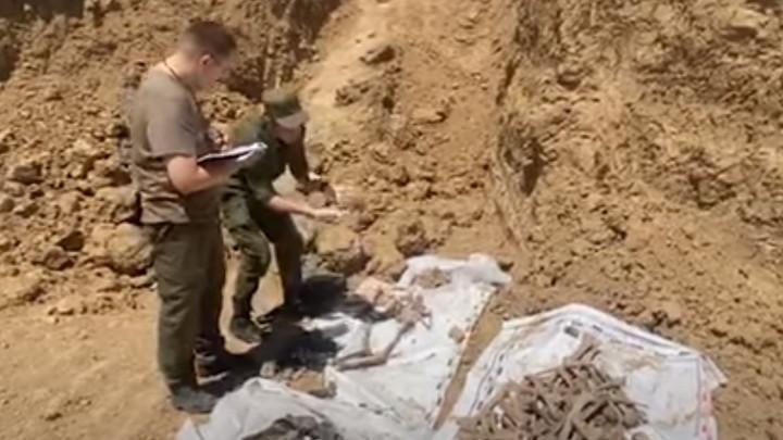 В Сальске началось расследование массового убийства мирного населения и военнопленных времен войны