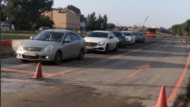 В Ростове открыли проезд для легковых автомобилей по мосту Малиновского