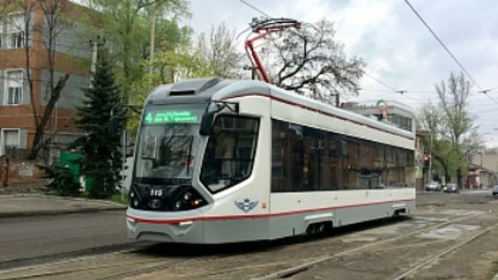 В Ростове изменили схему движения трамваев
