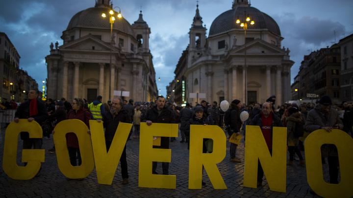 Аналитики пророчат победу партии Берлускони на выборах в итальянский парламент