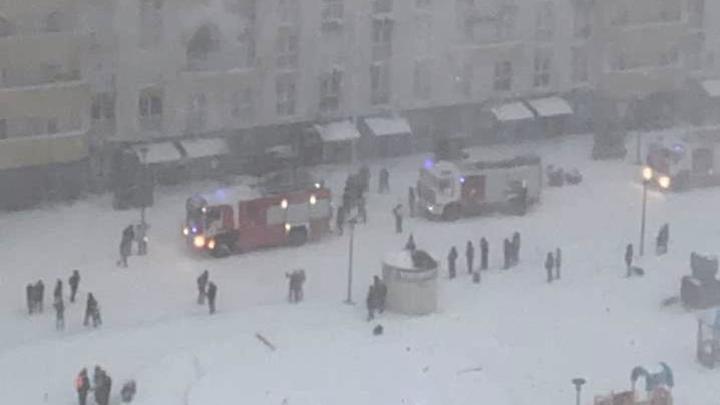 Пожар в многоэтажке Краснодара: эвакуировано 90 жильцов