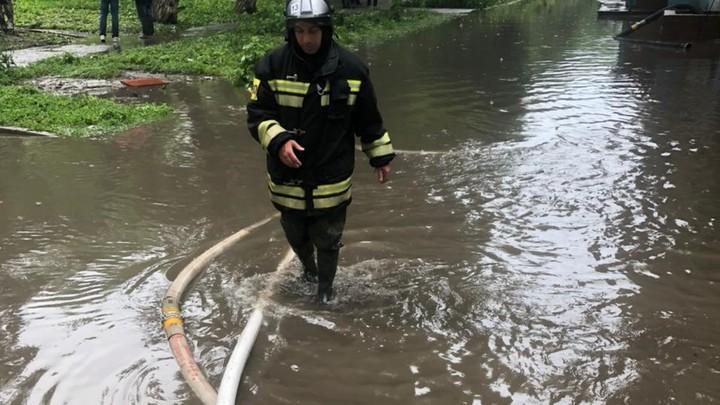 Ураган в Ростове свалил более полусотни деревьев, затоплены десятки улиц и домов
