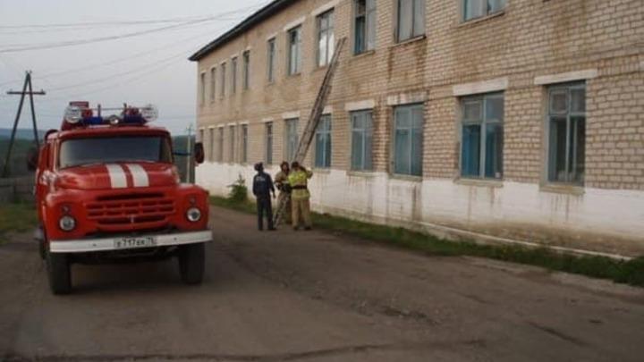 В Шелопугинской ЦРБ произошёл пожар