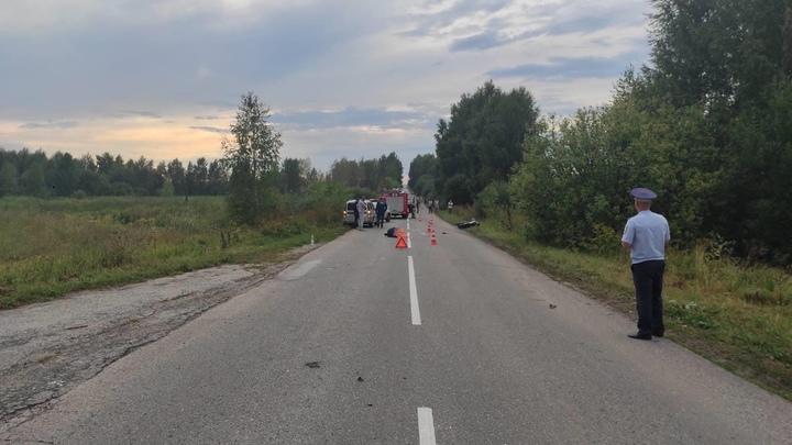 В Нижегородской области погиб 15-летний водитель мопеда