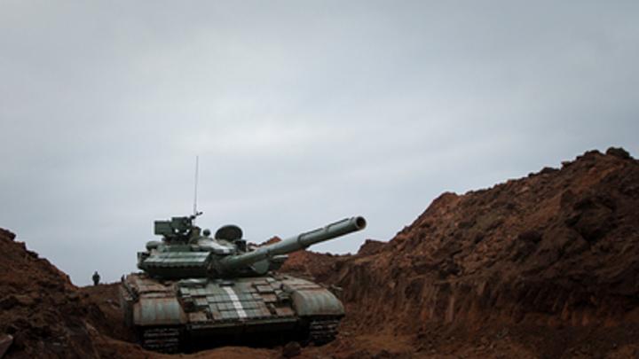 Танки: Украина применила против мирных жителей Донбасса тяжелую технику