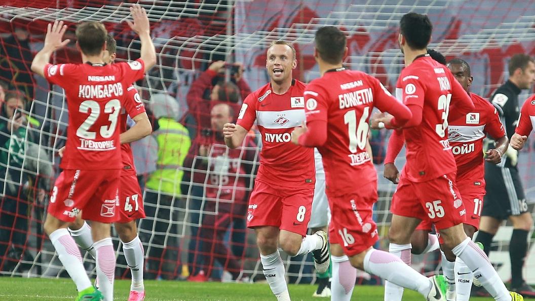 Спартак обыграл Локомотив в дополнительное время в матче за Суперкубок