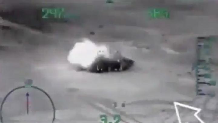 ВКС России превращают в пепел боевиков Ан-Нусры под Хамой: видео спецоперации