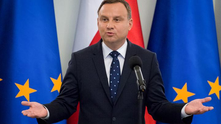Президент Польши осмелился шантажировать Россию
