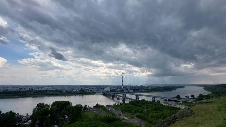 В Кузбассе в течение суток ожидается дождь с мокрым снегом