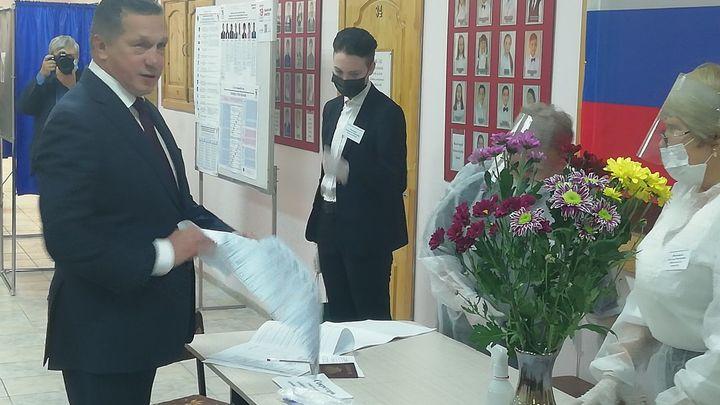 Голос засчитан: Юрий Трутнев выполнил свой гражданский долг в Чите