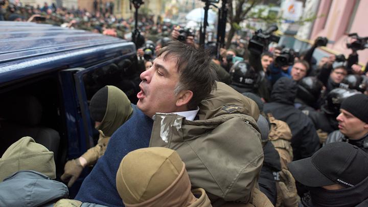 Арест Саакашвили не спасет Порошенко