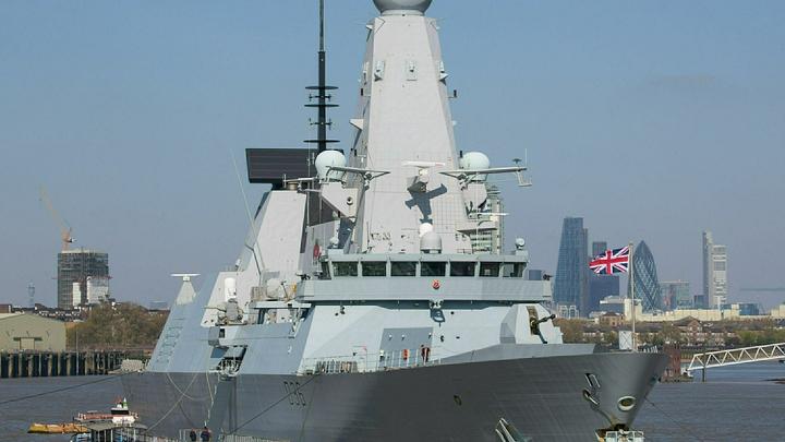 Британия чуть не лишилась единственного эсминца у берегов Крыма