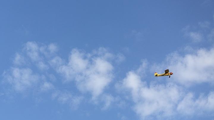 В Подмосковье легкомоторный самолет рухнул во двор дачного дома, погибли двое