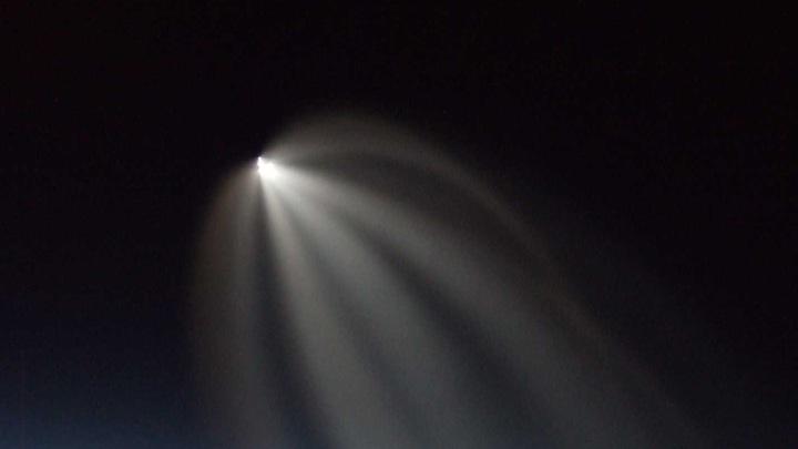 Неопознанный летающий объект напугал пилотов США до икоты