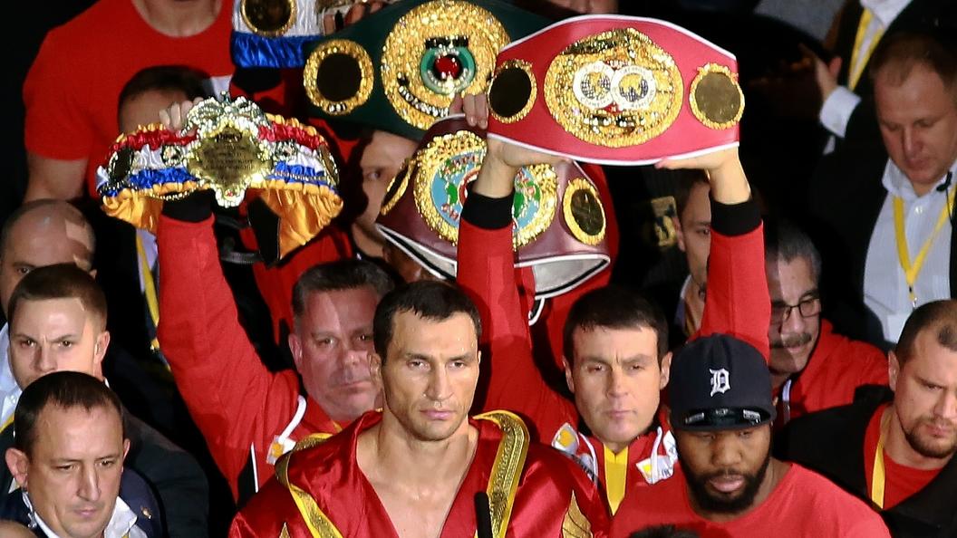 Владимир Кличко об уходе из бокса: Оставил карьеру ради карьеры