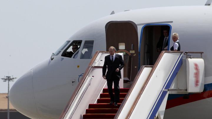 Владимир Путин прибыл в Осаку на саммит Большой двадцатки