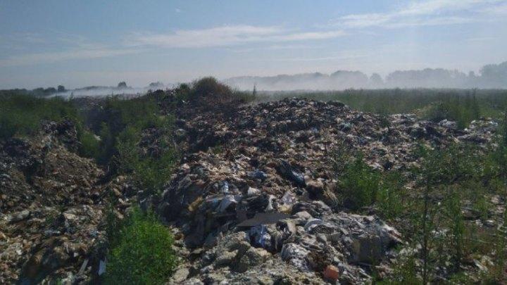 В Кемерове возбуждено уголовное дело из-за горящей мусорной свалки