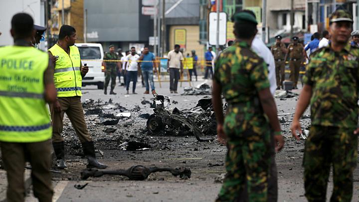 ИГИЛ взяла ответственность за теракты на Шри-Ланке