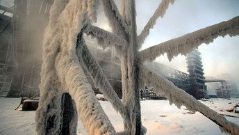 Морские котики США учатся русской закалке на морозе в Норвегии