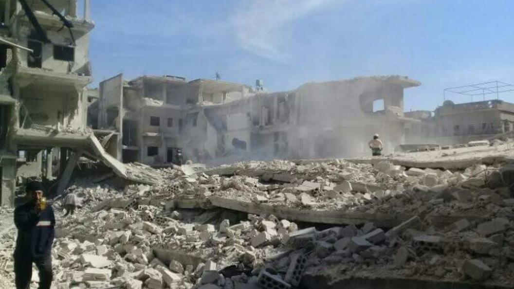 Сирийские военные отбили у боевиков город Ас-Сухне в Хомсе