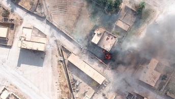 Лучше бы кадры из компьютерной игры нарезали: CNN выдала видеоверсию удара по русским наемникам в Сирии