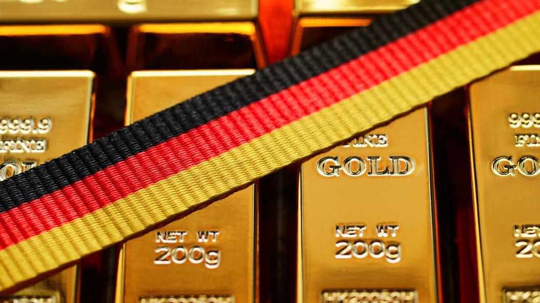 Германия забирает из-за рубежа свое золото, чтобы прочнее стоять на ногах