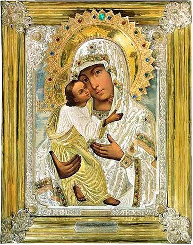 Псково-Печерская икона Божией Матери Умиление