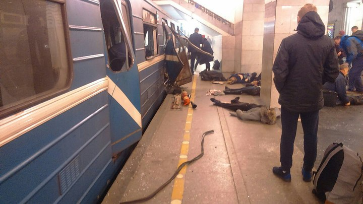 Личности погибших при теракте в метро будут определять на генетическом уровне