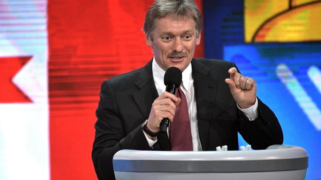 Песков рассказал, какие темы Россия и США не поднимают во время переговоров