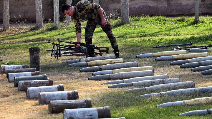 Террористы на БМП и танках снова атаковали военных сирийской армии