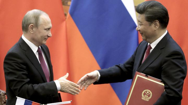 Путин пошел на рекорд в Китае