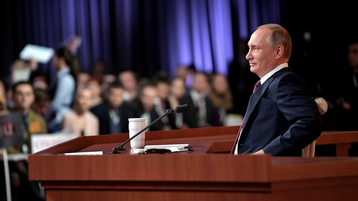 Владимир Путин остается лидером гонки на выборах президента 2018 года
