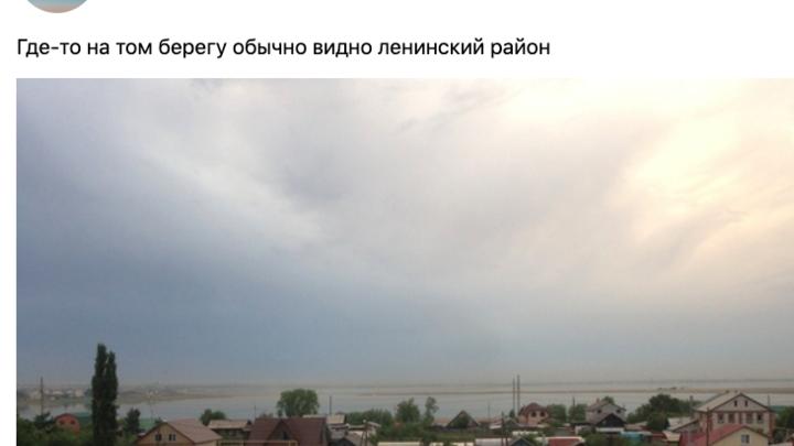 В Челябинске над заводами веет рыжий дым, но воздух стал чище