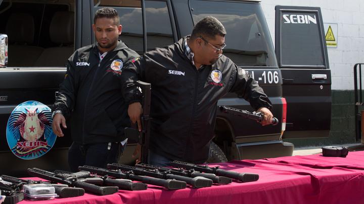 Спецслужбы Венесуэлы перехватили американское оружие для террористов в аэропорту