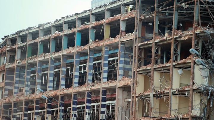 Общежития у метро «Ладожская» снесли в Санкт-Петербурге: они попали под программу реновации