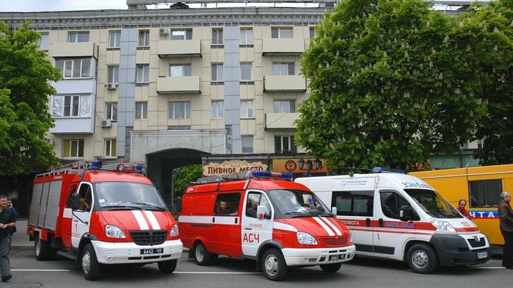 В результате теракта в Луганске погибла капитан милиции ЛНР, пятеро ранены