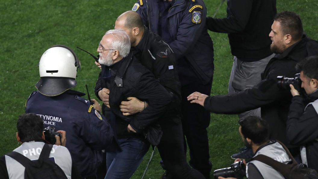 Предпринимателя Ивана Саввиди натри года отлучили отгреческого футбола