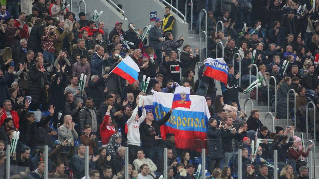 Открылось голосование задевиз сборной Российской Федерации наЧМ-2018 пофутболу