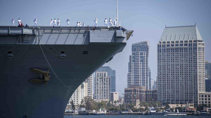 Матрос бесследно испарился с военного корабля в открытом море: Его ищут вторые сутки