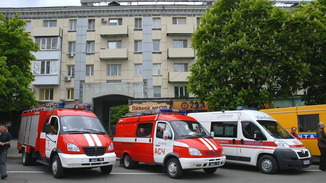 Второй взрыв в Луганске был направлен на медиков и представителей спецслужб