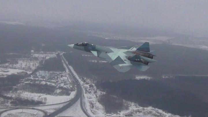 Американцев ждет неприятный сюрприз в случае боя между Су-57 и F-22 в сирийском небе