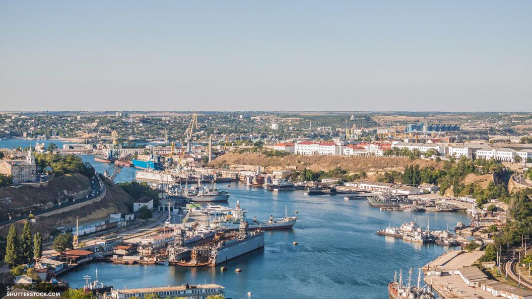 Украинское судно нарушило границу РФ близ Крыма