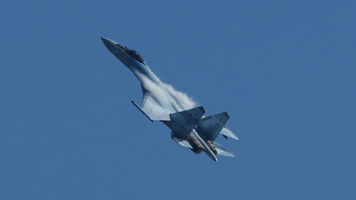 В Зоне 51 потерпел крушение российский истребитель Су-27: пилот погиб