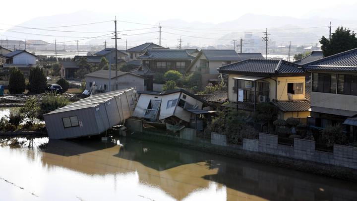 Наводнение в Японии унесло жизни почти 200 человек более 60- пропали без вести